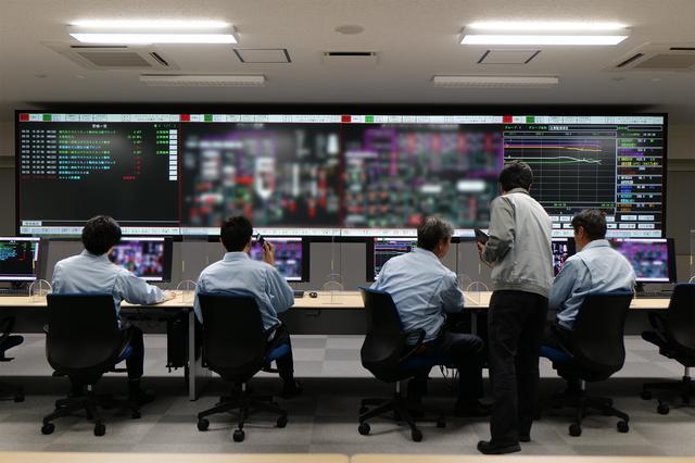 画像: サイバー防衛訓練検証設備