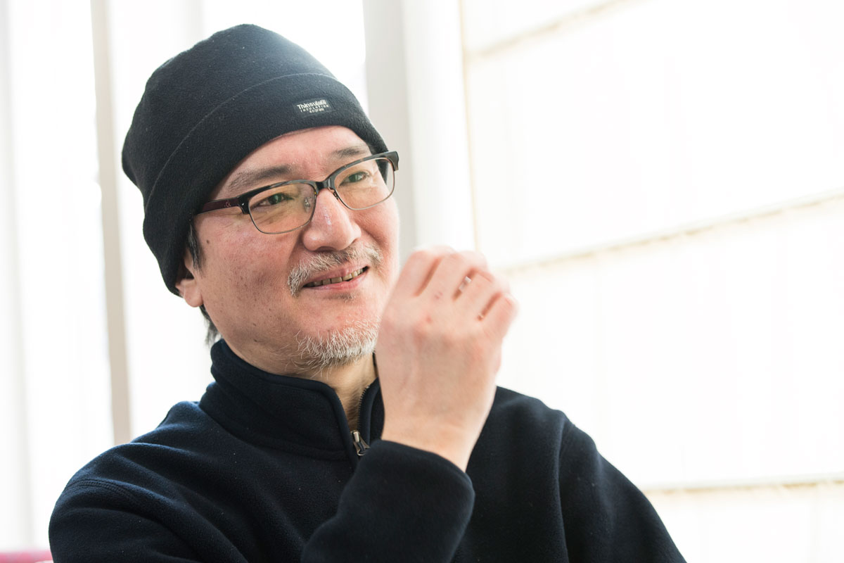 画像: 渋る谷口ジローさんを泣き落しで説得