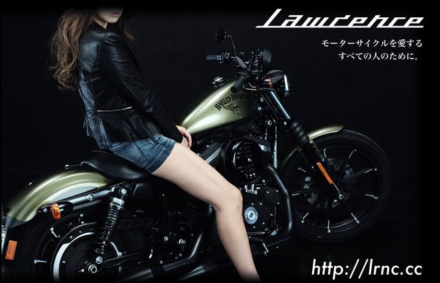 画像: #ヘルメット女子 - LAWRENCE - Motorcycle x Cars + α = Your Life.