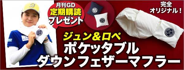 月刊GD定期購読ダウンフェザーマフラー