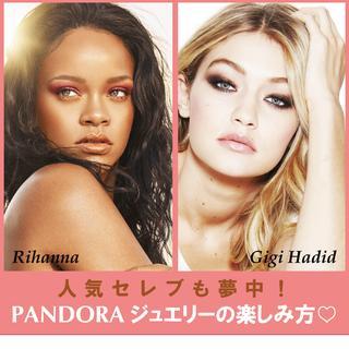 パンドラ、Pandora、ジュエリー、セレブ愛用、ジジ・ハディッド