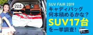SUV一挙調査2018
