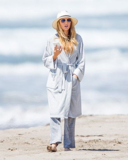 Blake Lively seen on set of The Shallows in Malibu, CA