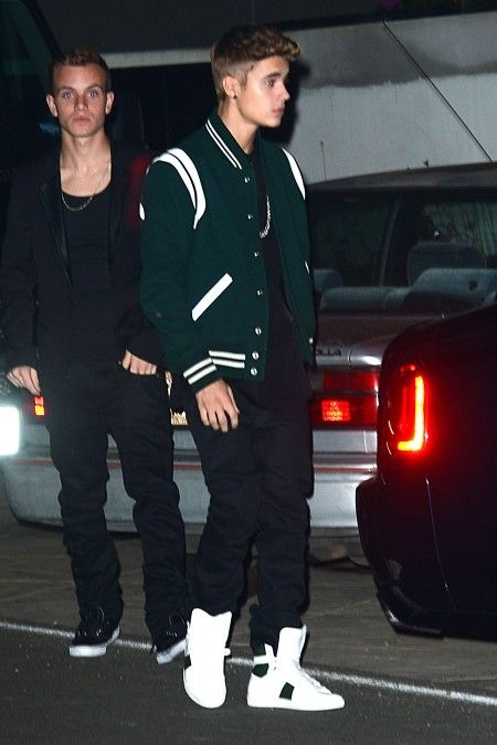 Justin Bieber and Jaden Smith attend Selena Gomez's 21st birthday in Malibu