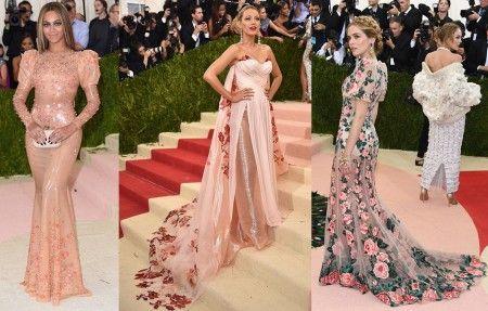 左から:ビヨンセ<Givenchy>、ブレイク・ライヴリー<Burberry>、ゾーイ・デューチ<Dolce and Gabbana>