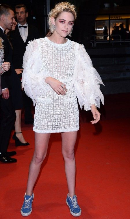 "Kristen Stewart attends ""Personal Shopper"" Red carpet premiere during the 69th annual Cannes Film Festival at the Palais des Festivals in Cannes."