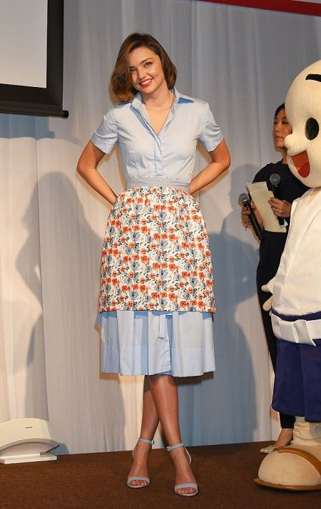 Miranda Kerr Promotes 'Marukome Miso' - Day 1