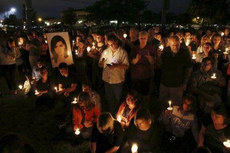 6月13日に催された追悼集会。