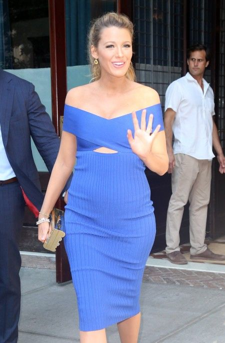 Blake Lively Heads to 'The Tonight Show with Jimmy Fallon', NYC