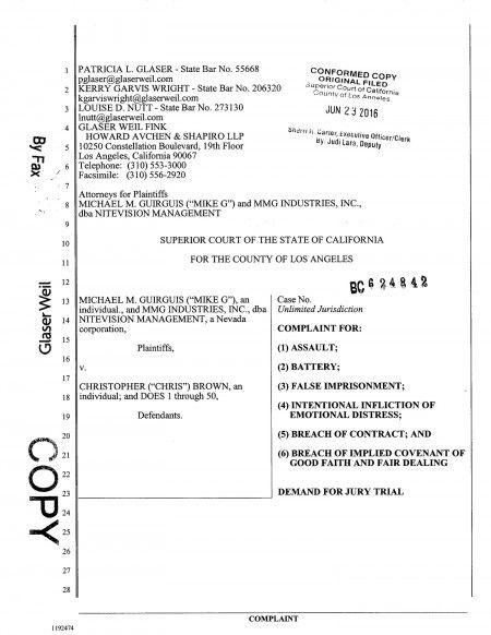 フロントロウ編集部が入手した裁判資料の一部。