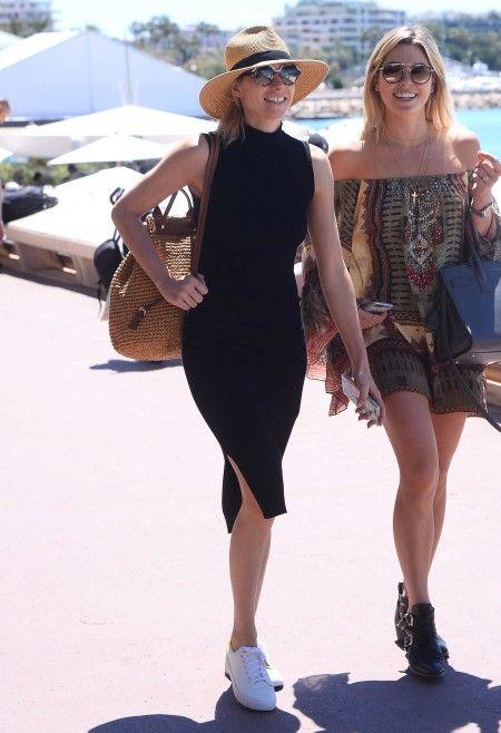 Celebrities seen in Cannes, France