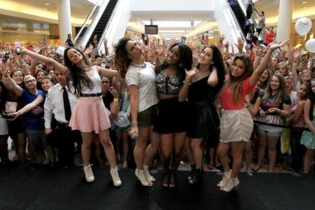 "Fifth Harmony ""Harmonize American Mall Tour"" - Saugus, MA"