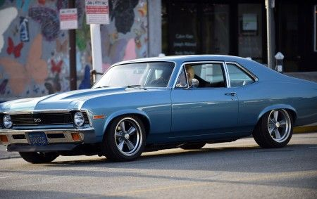 EXCLUSIVE: Lady Gaga cruises the streets of LA in a 1971 Chevelle SS!