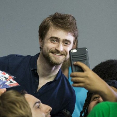 """Daniel Radcliffe at Apple SoHo Store Presents: """"Swiss Army Man""""-Meet the Actors"""