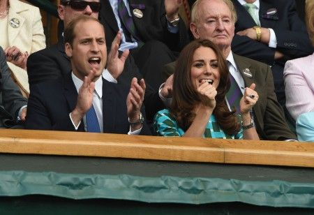 Celebrities attend the Wimbledon Men's Tennis Final 2014