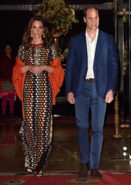 The Duke and Duchess of Cambridge have a private dinner with the King and Queen of Bhutan