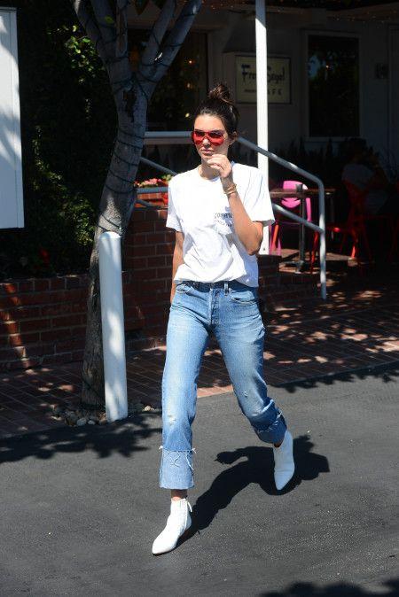 ケンドル・ジェナー Kendall Jenner  ランチ ファッション 8月22日