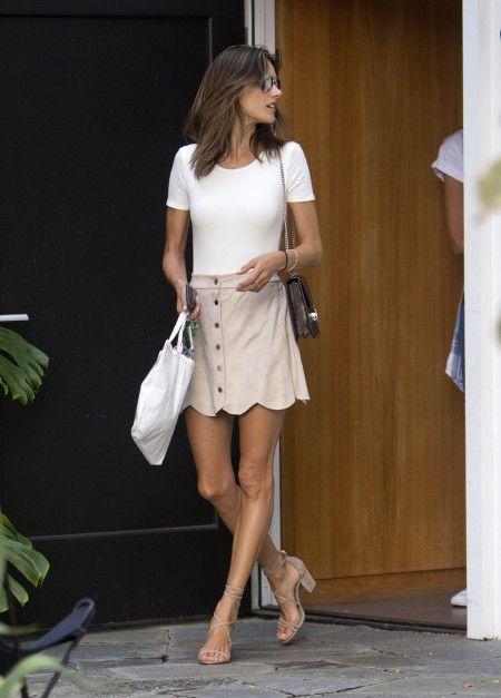 アレッサンドラ・アンブロジオ Alessandra Ambrosio  ショッピング LA ファッション 8月22日