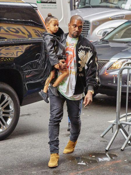 カニエ・ウエスト Kanye West ノース・ウエスト North West  Yeezy Boost イージーブースト キッズ NY
