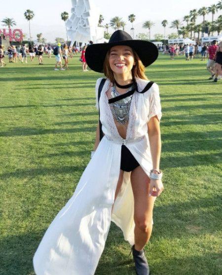 ステートメントネックレス コーチェラ フェス ファッション