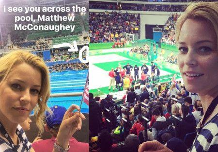 エリザベス・バンクス Elizabeth Banks リオ オリンピック 五輪 マシュー・マコノヒー Matthew Mcconaughey