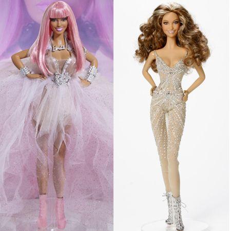 ニッキ―・ミナージュ Nicki Minaj ジェニファー・ロペス Jennifer Lopez バービー Barbie