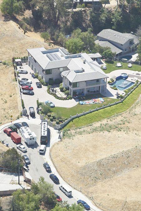事件当時のクリス宅。
