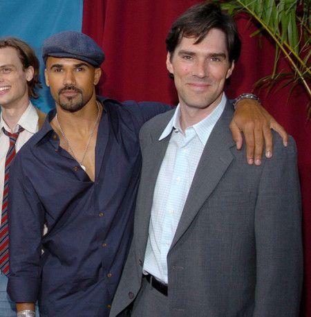 シェマー(左)とトーマス(右)はシーズン1が放送された2005年からずっと共演していた。