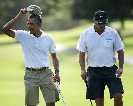 オバマ大統領 ダッド・ハット 野球帽 お父さん ファッション