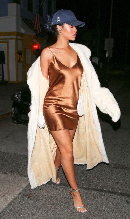 リアーナ Rihanna ファッション ダッド・ハット