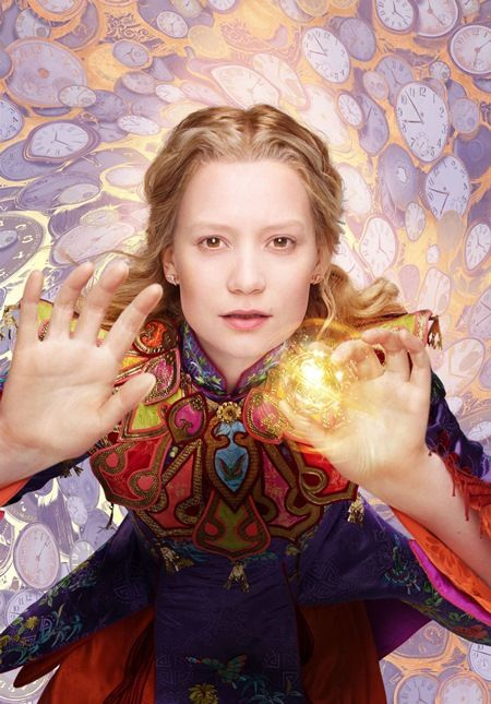ALICE THROUGH THE LOOKING GLASS (2016) - MIA WASIKOWSKA.