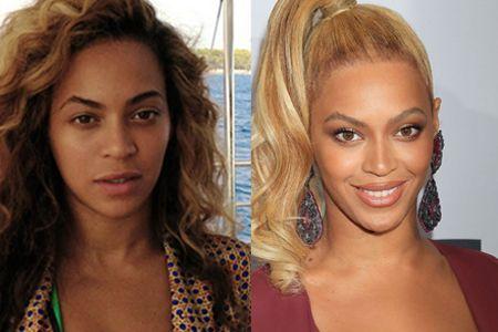 ビヨンセ Beyonce すっぴん 素顔 ノーメイク
