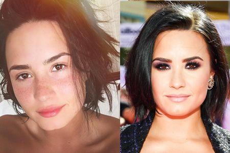デミ・ロヴァート Demi Lovato すっぴん 素顔 ノーメイク