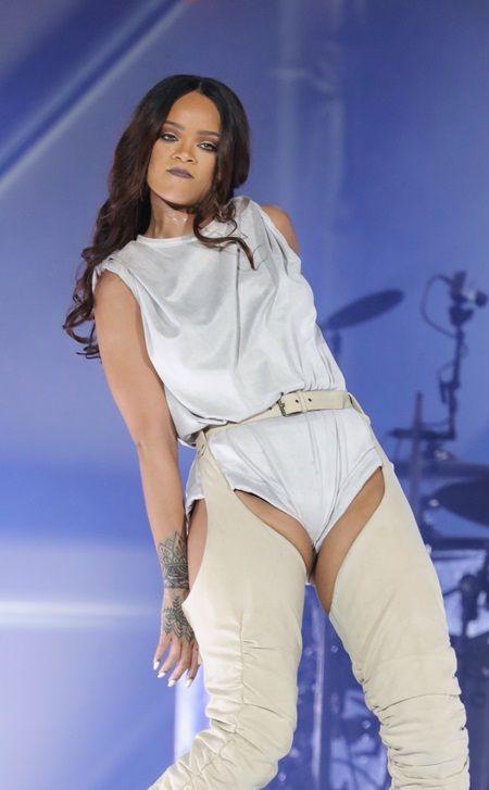 リアーナ Rihannaアンチ・ツアー ミラノ