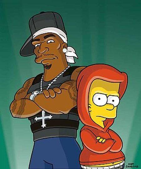 ザ・シンプソンズ The Simpsons ヒップホップ 50セント