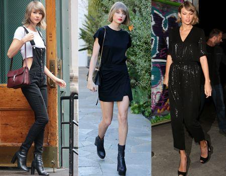 テイラー・スウィフト Taylor Swift モノトーン ファッション クール