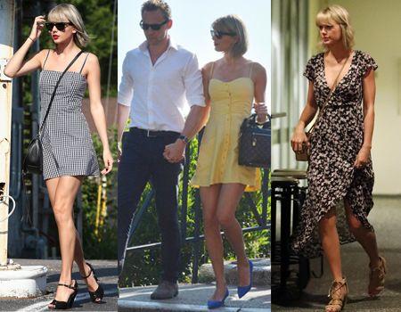 テイラー・スウィフト Taylor Swift ファッション ガーリー レトロ トム・ヒドルストン