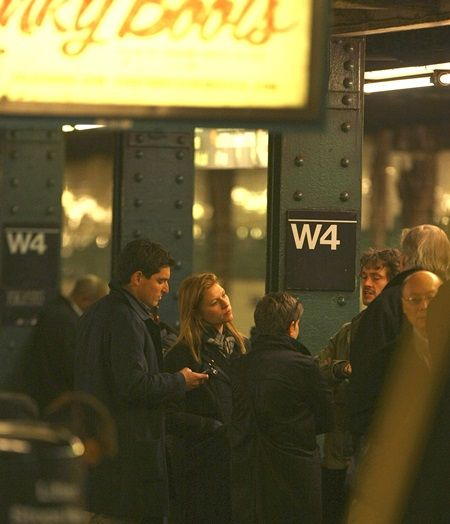 EXCLUSIVE: Claire Danes rides the subway while shopping in NYC