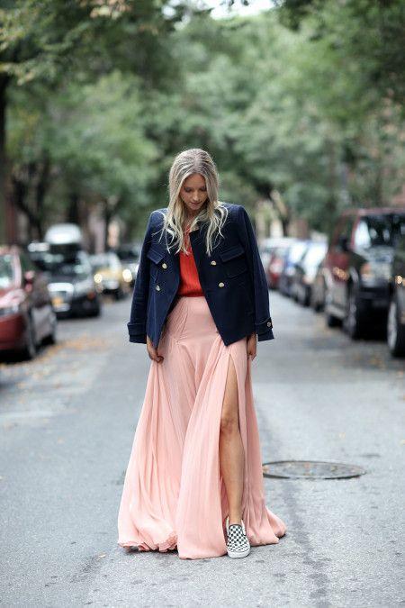 シャーロット・グレネヴェルド Charlotte Groeneveld Vans ヴァンズ スリッポン ブロガー the Fashion Guiter