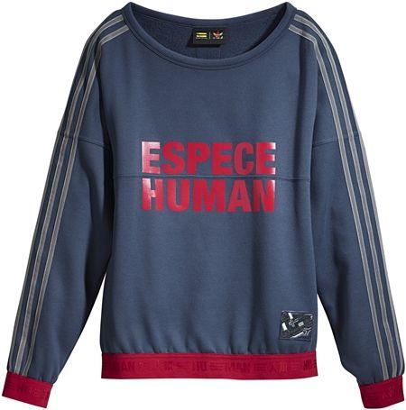 アディダス・オリジナル×ファレル」・ウィリアムス Adidas Originals = PHARRELL WILLIAMS コラボ 発売 セレブ ファッション スウェット
