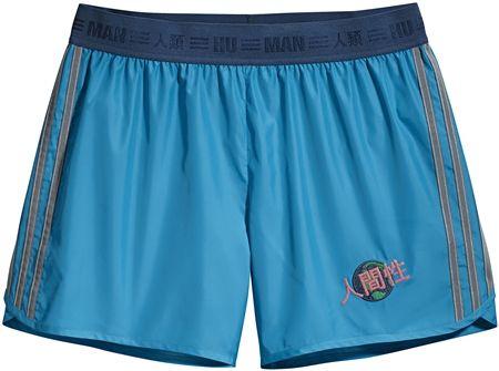 アディダス・オリジナル×ファレル」・ウィリアムス Adidas Originals = PHARRELL WILLIAMS コラボ 発売 セレブ ファッション ショートパンツ