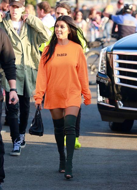 コートニー・カーダシアン Kourtney Kardashian Pablo カニエ・ウェスト Kanye West グッズ I Feel Like Pablo  Pabloグッズ セイントツアー
