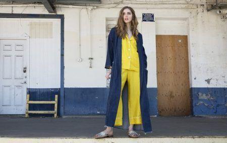 キアラ・フェラーニ Chiara Ferragni パジャマ パジャマ風ファッション