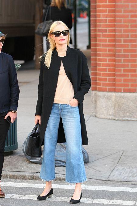 ケイト・ボスワース Kate Bosworth クロップトデニム フレアデニム 女優 セレブ ファッション