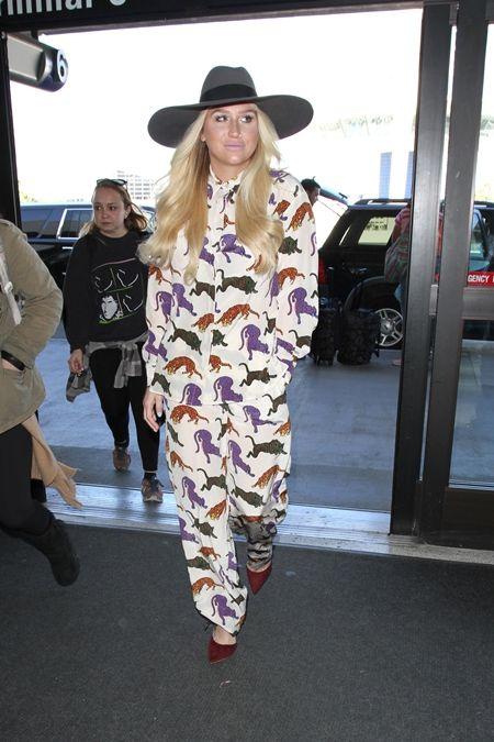 ケシャ Ke$ha パジャマ パジャマ風ファッション トラ柄