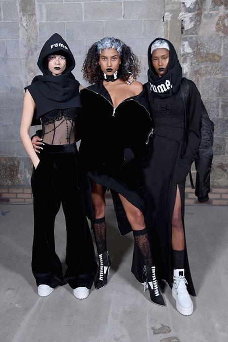 リアーナ Rihanna FENTY ×PUMA by Rihanna  コレクション NY 2月