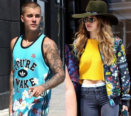 ジャスティン・ビーバー Justin Bieber ジジ・ハディッド Gigi Hdid アディダス・オリジナル×ファレル」・ウィリアムス Adidas Originals = PHARRELL WILLIAMS コラボ 発売 セレブ ファッション