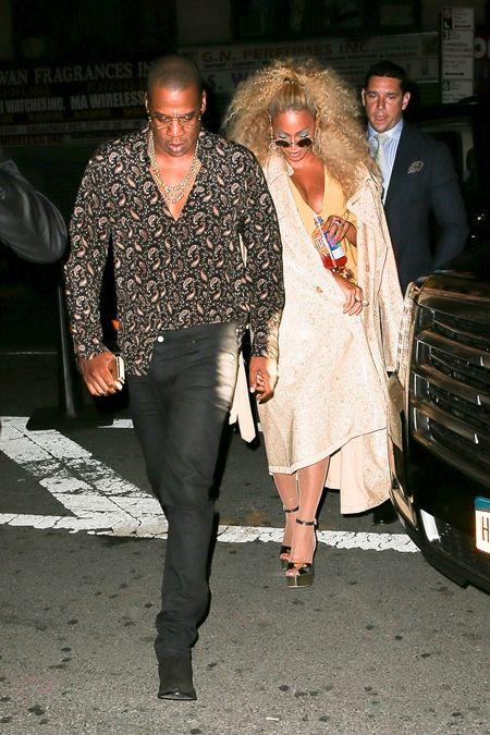 ビヨンセ Beyoncé  ジェイ・ジー  Jay Z  ビヨンセ誕生日会 NY ソウルトレイン