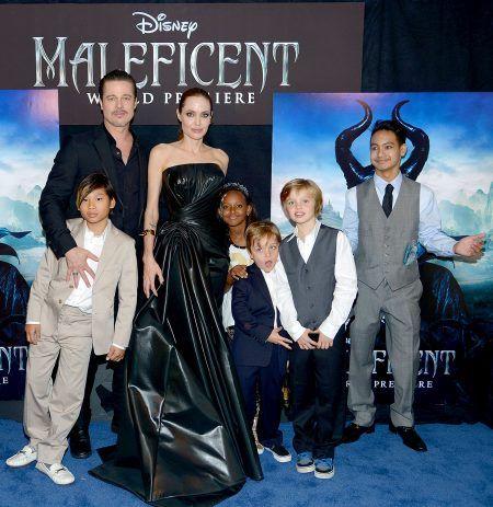 ブラッド・ピット Brad Pitt アンジェリーナ・ジョリー Angelina Jolie  子供たち