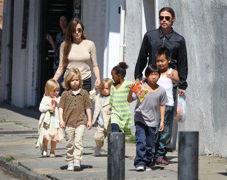 アンジェリーナ・ジョリー Angelina Jolie ブラッド・ピット Brad Pitt 子供たち